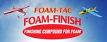 Foam-Tac Foam-Finish - finishing compound for foam