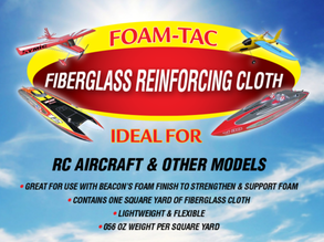 Fiberglass Reinforcing Cloth from Foam-Tac